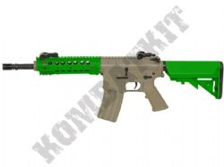 CM516 Electric Airsoft Rifle M4 URX Carbine AEG BB Machine Gun Alloy Gear Box Tan & 2 Tone